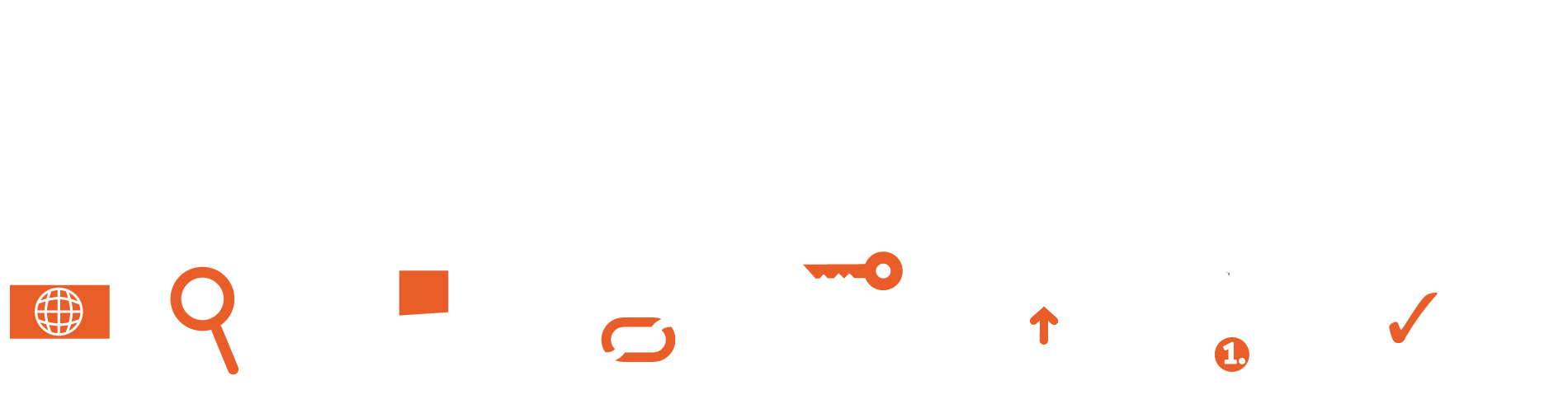 Artistic rendering of SEO stages